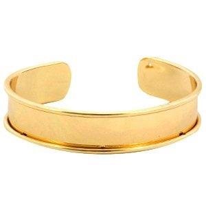 Goud Basis armband 10mm binnenmaat Goud DQ