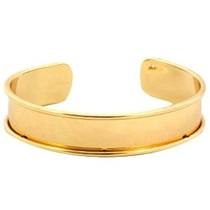 Goud Basis armband 5mm binnenmaat Goud DQ