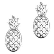 Zilver Bedel ananas Zilver DQ 25x12mm