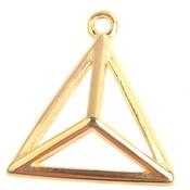 Goud Bedel piramide Goud DQ 17mm