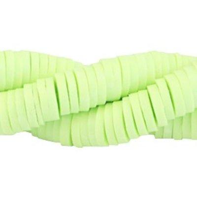 Groen Katsuki kralen XL verpakking Pastel lime green 4mm - ±425 stuks
