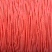Rood Nylon rattail koord oranje rood 1mm - 6 meter