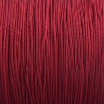 Rood Nylon rattail koord donker rood 1mm - 6 meter