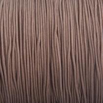 Bruin Nylon rattail koord grijs bruin 1mm - 6 meter
