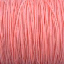 Roze Nylon rattail koord roze peach 1mm - 6 meter
