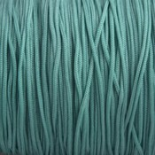 Groen Nylon rattail koord zeegroen 1mm - 6 meter