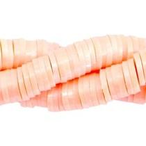 Oranje Katsuki kralen pearl coated Peach orange 4mm - ±70 stuks