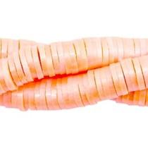 Oranje Katsuki kralen pearl coated Coral orange 4mm - ±70 stuks