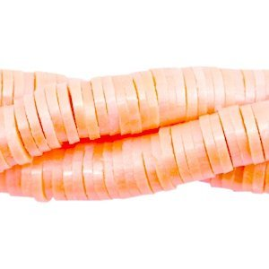 Oranje Katsuki kralen XL verpakking pearl coated Coral orange 4mm - ±425 stuks