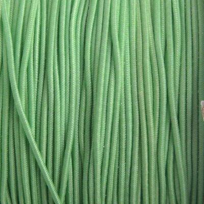 Groen Elastiek zacht groen 1mm - 3m