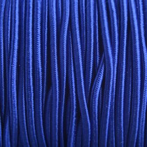 Blauw Elastiek hollands blauw 2mm - 1m