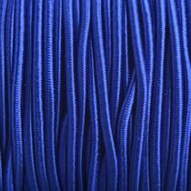 Blauw Elastiek hollands blauw DQ 2mm - 1m