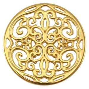 Goud Bedel filigraan disc Goud DQ 31mm