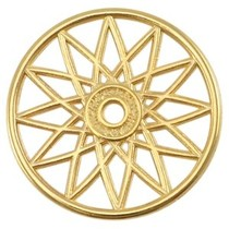Goud Bedel dreamcatcher Goud DQ 32mm
