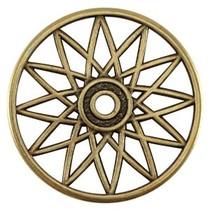 Antiek Goud Brons Bedel dreamcatcher Brons DQ 32mm