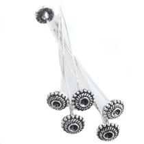 Zilver Nietstift design Zilver 55x7mm