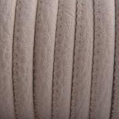 Bruin Imitatie leer Light beige brown 6x4mm - prijs per 20cm