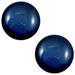 Blauw Cabochon Super Polaris Radiant blue 12mm