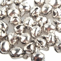 Zilver Belletjes Zilver 8x6mm - 25 stuks