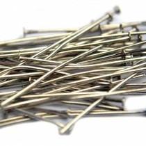 Zilver Nietstiften zilver 40mm - 50 stuks