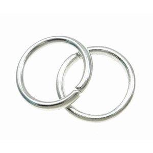 Zilver Ringetjes Zilver 7x1mm ±80 stuks