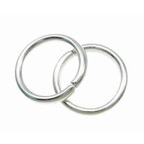 Zilver Ringetjes Zilver 6x1mm ±95 stuks