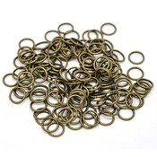 Antiek Goud Brons Ringetjes Brons 5x0,8mm ±210 stuks