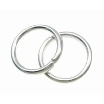 Zilver Ringetjes Zilver 9x1,2mm ±39 stuks