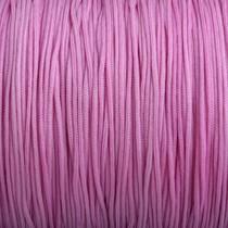 Roze Nylon rattail koord pink lilac 1mm - 6 meter
