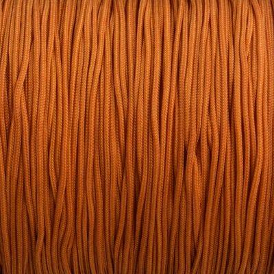 Bruin Nylon rattail koord cognac bruin 1mm - 6 meter