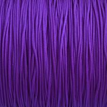 Paars Nylon rattail koord violet paars 1mm - 6 meter