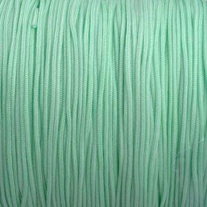 Groen Nylon rattail koord mint groen 1mm - 6 meter