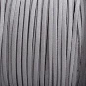 Grijs Imitatie suede grijs 3x1,5mm - 3 meter