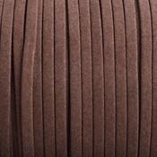 Bruin Imitatie suede bruin 5x1,5mm - per meter