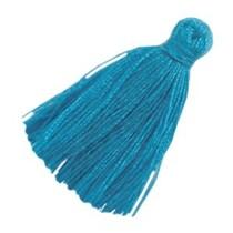 Blauw Kwastjes small Blauw 20mm
