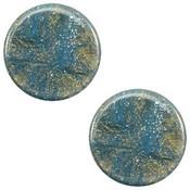 Blauw Polaris cabochon Stardust Blue shade 7mm