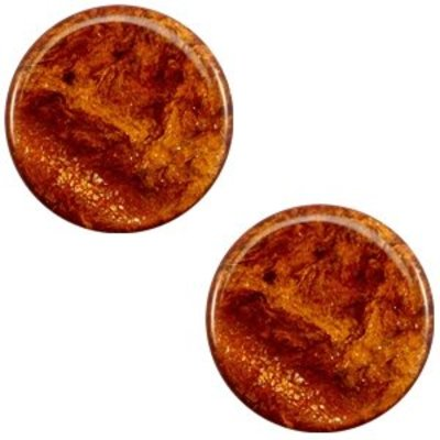 Bruin Polaris cabochon Stardust Topaz bruin 7mm