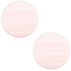 Roze Polaris cabochon Sparkle dust Licht roze 7mm