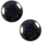 Blauw Cabochon polaris Jais Montana blue 12mm