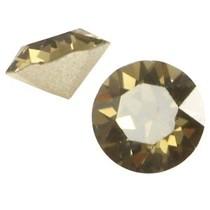 Bruin Swarovski puntsteen ss24 (5,2mm) Smoky quartz bruin