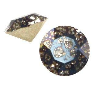 Zwart Swarovski puntsteen ss24 (5,2mm) Crystal black patina