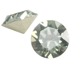 Grijs Swarovski puntsteen ss24 (5,2mm) Black diamond