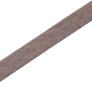 Bruin Plat leer DQ Dark vintage brown 10x2mm - 90cm