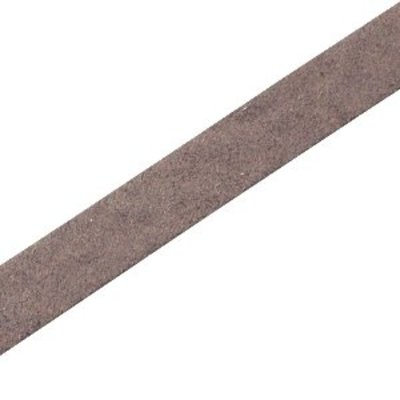 Bruin Plat leer DQ Dark vintage brown 10x2mm - 90cm