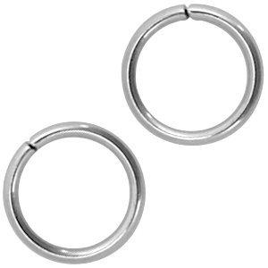 Rvs Ringetjes RVS 3x0,6mm - ±125 stuks