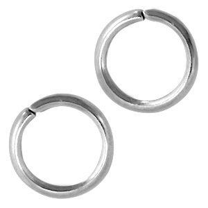 Rvs Ringetjes RVS 5x1mm - ±125 stuks