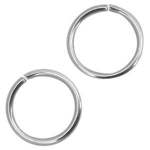 Rvs Ringetjes RVS 8x1,2mm - ±70 stuks