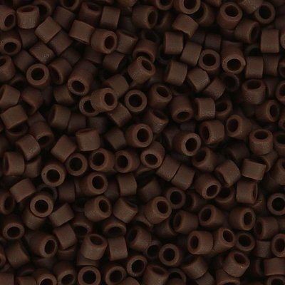 Bruin Miyuki Delica Opaque Espresso Mat 11/0 - 4gr