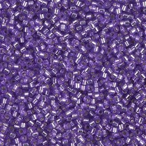 Paars Miyuki Delica Silver Lined Lilac 11/0 - 4gr