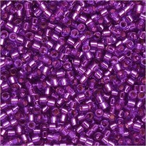 Paars Miyuki Delica Silver Lined Bright Violet 11/0 - 4gr